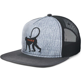 Prana Journeyman Trucker Hat Granite Monkey